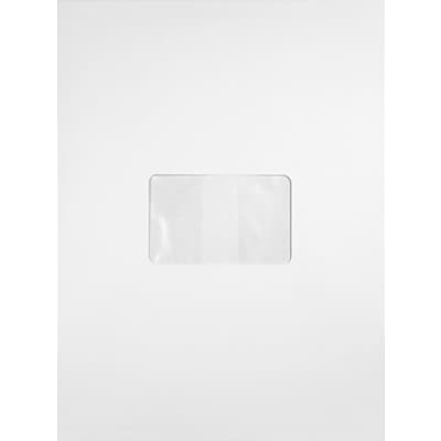LUX 9 x 12 Open End Center Window (9 x 12) - Bright White - Pack of 250 (2444782)