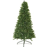 Darice 4 Green Canadian Pine Artificial Christmas Tree with 250 Multi-Color LED Lights