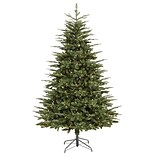 Vickerman 7 Grantwood Pine Artificial Christmas Tree with Clear Lights