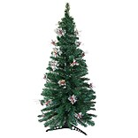 Northlight 6 Artificial Christmas Tree with Silver Holly