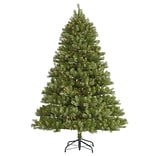 Vickerman 7.5 Belvedere Spruce Artificial Christmas Tree with LED Clear Lights