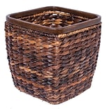 Birdrock Home Handwoven Seagrass Office Waste Bin 8254 (8254)