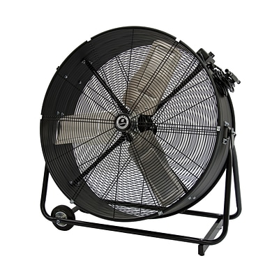 TPI 30 Commercial Direct Drive Portable Blower Fan, Gray/Black/Silver (CPBS30D)