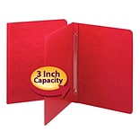 Smead Pressboard Binder, Red, 8 1/2 x 11