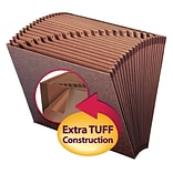 TUFF® Redrope A-Z Letter Expanding File