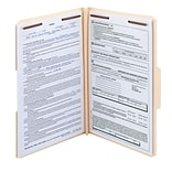 Smead® Fastener File Folder, 2 Fasteners, Reinforced 1/3-Cut Tab, 1-1/2 Expansion, Legal Size, 50/B