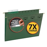 TUFF® Hanging File Folders with Easy Slide™ Tabs