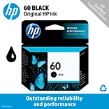 HP 60 Black Ink Cartridge (CC640WN)