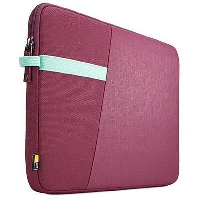 Case Logic® Ibira Purple Polyester Laptop Sleeve for 11 Laptop (IBRS111ACAI)