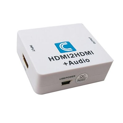 Comprehensive® CP-HDA2N HDMI Digital to Analog Audio Converter, White