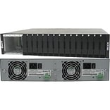 Perle MCR1900-DAC 19 Slot Media Converter Chassis, Black