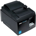 Star Micronics futurePRNT TSP143IIILAN 203 dpi Monochrome Direct Thermal Receipt Printer, Gray (3946
