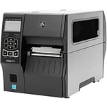Zebra® ZT410 Monochrome Direct Thermal/Thermal Transfer Label Printer, 300 dpi (ZT41043-T410000Z)