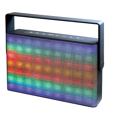 Craig® Portable Speaker With Color Changing Lights and Bluetooth Wireless Technology