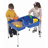 Childrens Factory Neptune Rectangle Sandbox Table; 18 H x 36 W x 24 D