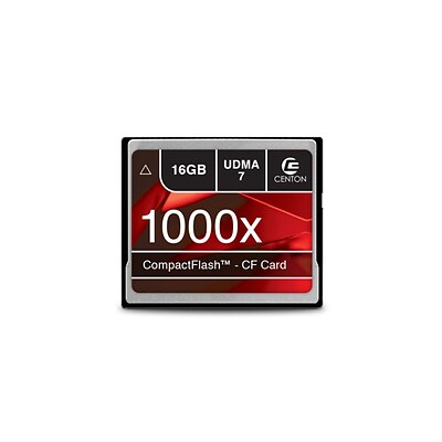 Centon MP Essential Compact Flash Memory; 1000x, 16GB