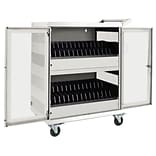 Tripp Lite®® White Steel 32-Device AC Charging Station Cart (CSC32ACW)