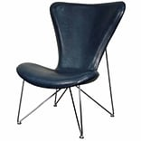New Pacific Direct Corbett Lounge Chair; Distressed Blue