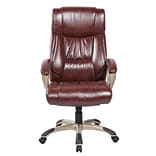 United Chair Industries LLC Deluxe High-Back Executive Chair; Brown