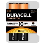 Duracell® Alkaline C Batteries 8-Pack