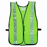 Cordova Mesh Safety Vest with 2 Reflective Tape, One Size Fits Most, Color: Hi-Vis Lime (V121W)