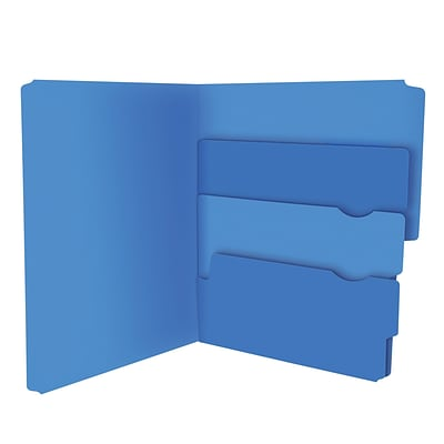 Pendaflex® Divide It Up® File Folders, Letter Size, Assorted Colors, 24/Pack (10772)