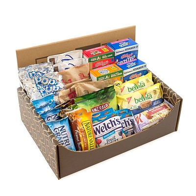 Breakfast Variety Snack Box, 41/Bx