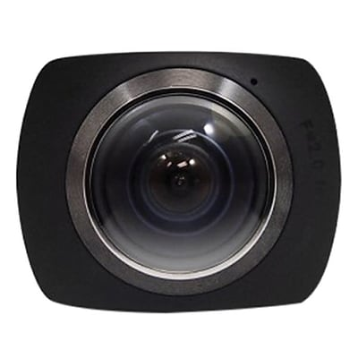 Axess® 1920 x 1080 360 deg. Action Camera, Black (CS3607)
