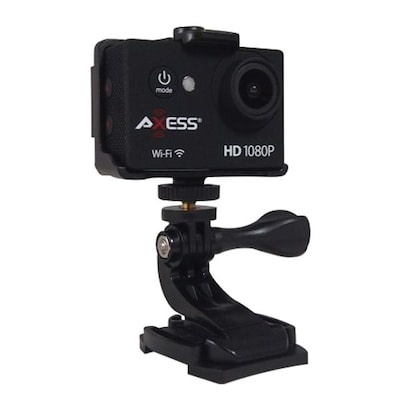 Axess(r) 1920 X 1080 Hd Action Camera, Black (cs3608)
