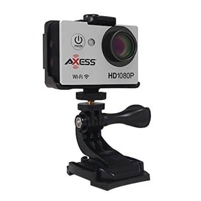 Axess(r) 1920 X 1080 Hd Action Camera, Silver (cs3608)