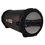 Axess® Thunder Sonic SPBT1041 10 W Indoor/Outdoor HIFI Bluetooth Speaker, Gray