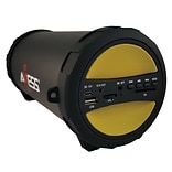 Axess® Thunder Sonic SPBT1041 10 W Indoor/Outdoor HIFI Bluetooth Speaker, Yellow