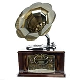 Back To The 50s 3-Speed Executive Antique Trumpet Horn Turntable/Phonograph (12129)