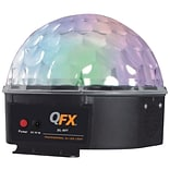 QFX® DL-601 DJ LED Light with USB/FM Radio, Black