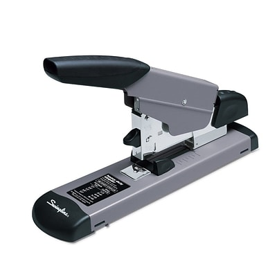 Swingline® Heavy Duty Desktop Stapler, 160 Sheet Capacity, Black/Gray (39005)