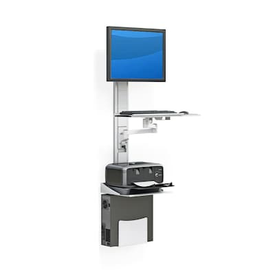 Best Mounting Computer Workstation Height Adjustable Universal