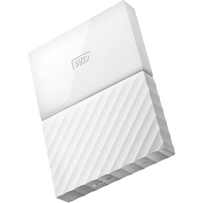 WD® My Passport WDBYNN0010BWT-WESN 1TB USB 3.0 External Hard Drive, White