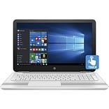 HP® Pavilion X0S48UA 15.6 Notebook, Touch LCD, Core i5-6200U 2.3 GHz, 1TB, 6GB, Win 10 Home, Blizzard White/Ash Silver