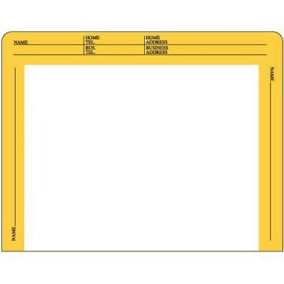 IFS 28-lb. Econ File Envelope; Yellow