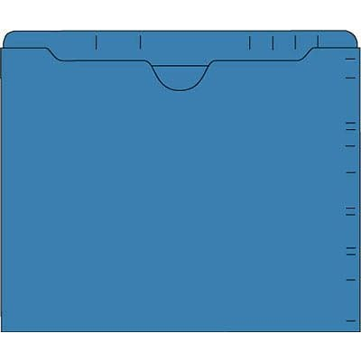 IFS 11-pt. Top Tab Pocket Folder; Dark Blue