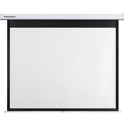 Optoma Panoview DS-3084PMG Manual Projection Screen; Matte White, 84 Diagonal