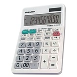 Sharp El-330wb Desktop Calculator, 10-Digit Lcd
