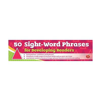 50 Sight-Word Phrases for Developing Readers