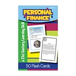 Personal Finance Flash Cards, Grade 5
