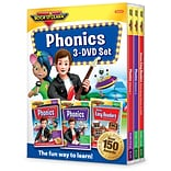 Rock N Learn® Phonics 3-DVD Set