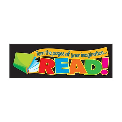Trend® Bookmarks, Turn the pages of your imagination...READ