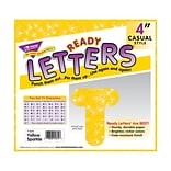 Trend® 4 Casual Sparkles Yel. Ready Letters