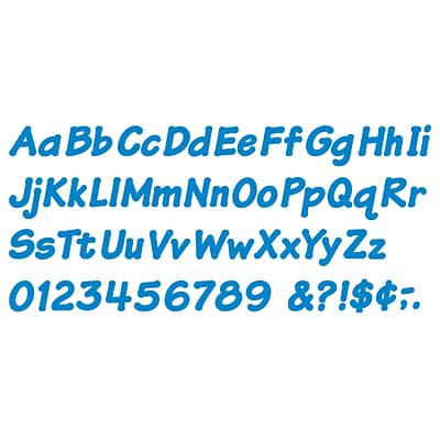 Blue 4-Inch Italic Ready Letters®