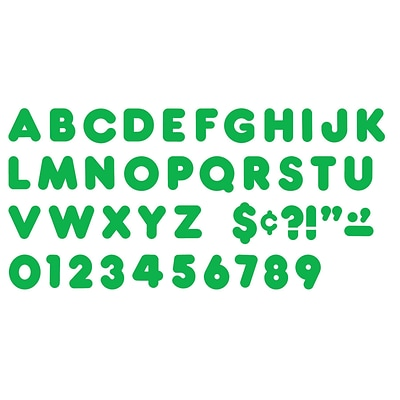 Trend® 2 Ready Letters®, Casual Green