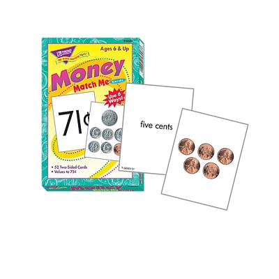 Trend® Match Me® Cards, Money